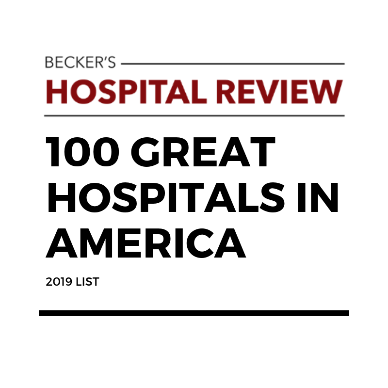 100 Great Hospitals in America   Potentia Analytics Inc
